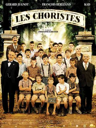 4/5 Perhaps one of the best well known French film abroad, The Chorists is set in a boarding school for juveniles and young misfits who learn to find a place in the world through singing in a choral.